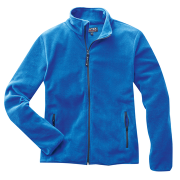 Fleecejacke Basic, blau, Gr. 3XL