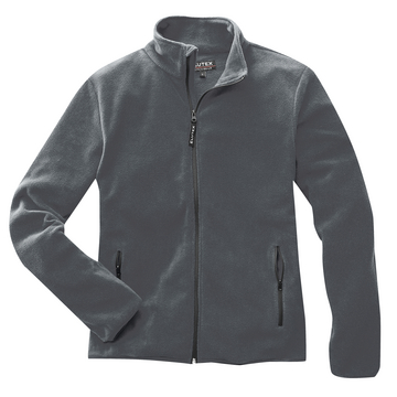 Fleecejacke Basic, grau, Gr. S