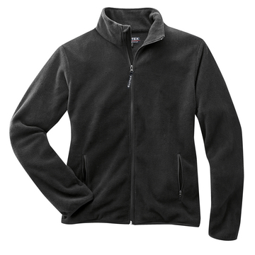 Fleecejacke Basic, schwarz, Gr. 3XL
