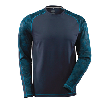 Funktions-Langarm-Shirt Advanced, blau, Gr. 3XL