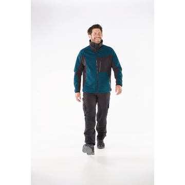 Strickjacke Advanced, blau, Gr.3XL