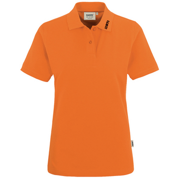 BTI Poloshirt Damen, orange, 2XL