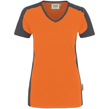 Damen T-Shirt Performance, orange, 6XL