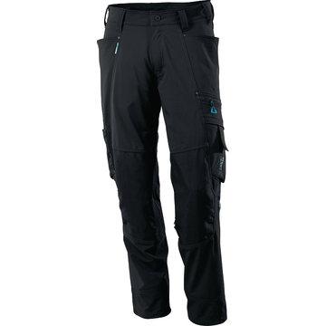 Bundhose Advanced Cordura schwarz