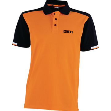 BTI Polo_Shirt_He.Orange Front