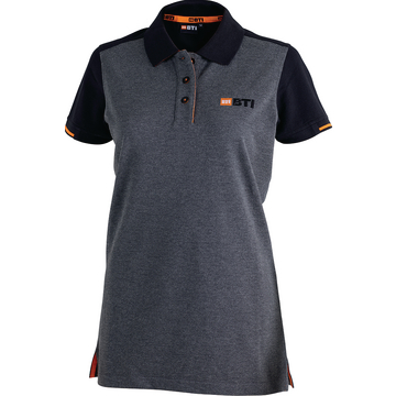 BTI Polo-Shirt_Da.grau