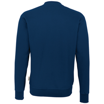 Sweat-Shirt Premium marine, hinten