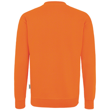 Sweat-Shirt Premium orange, hinten