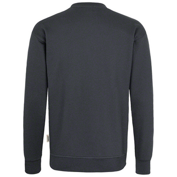 Sweat-Shirt Premium anthrazit, hinten