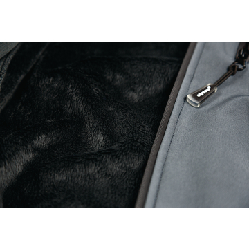 Winter-Softshelljacke-Apollo, grau/schwarz