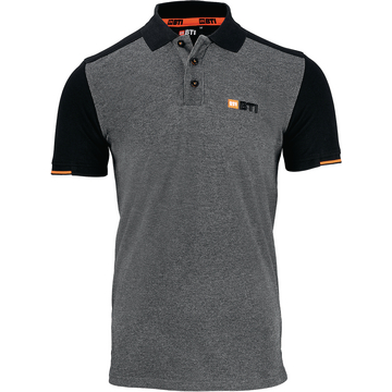 Polo-Shirt BTI Herren anthrazit