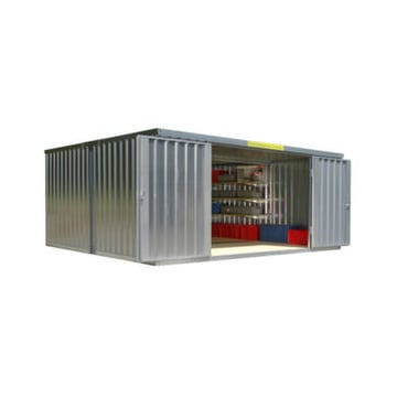 Container Kombination,HxLxB 2160x4340x5080mm,2 Module,m. Holzboden