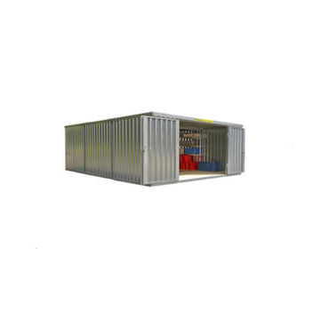 Container Kombination,HxLxB 2160x6510x5080mm,3 Module,m. Holzboden