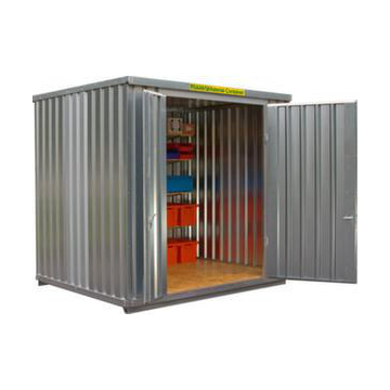 Großraum-Materialcontainer,HxLxB 2532x2170x3020mm,Holzboden