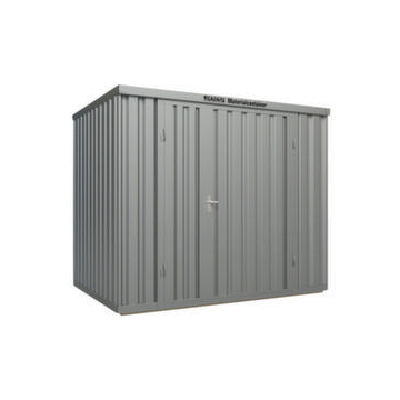Großraum-Materialcontainer,HxLxB 2532x2170x3020mm,Lackierung RAL5010