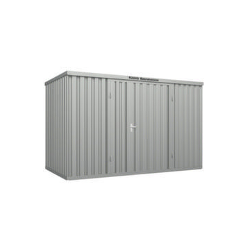Großraum-Materialcontainer,HxLxB 2532x2170x4050mm,Lackierung RAL7035