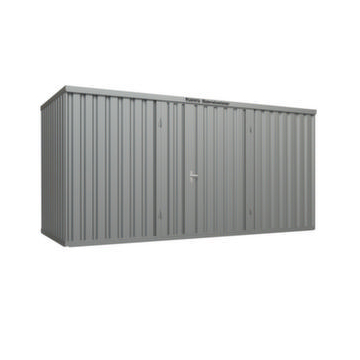 Großraum-Materialcontainer,HxLxB 2532x2170x5080mm,Lackierung RAL5010