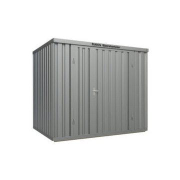Großraum-Materialcontainer,HxLxB 2595x2540x3020mm,Lackierung RAL6010