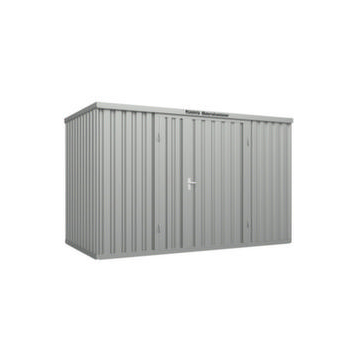 Großraum-Materialcontainer,HxLxB 2595x2540x4050mm,Lackierung RAL3000