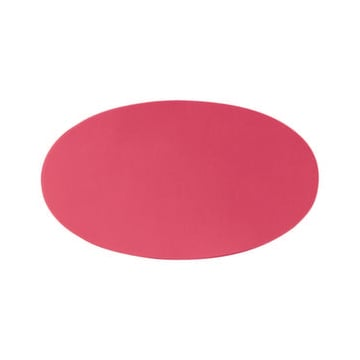 Moderationskarte,HxB 110x190mm,Oval,rot