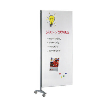 Stellwandsystem,HxB 1750x800mm,Whiteboard-Element