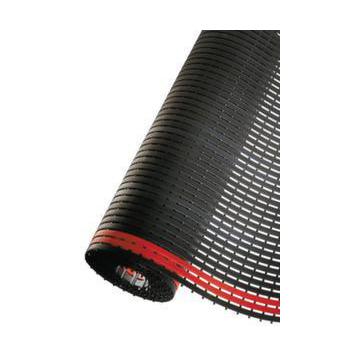Industrie Laufmatte B 800 Mm Kunststoff Schwarz Mit Roten