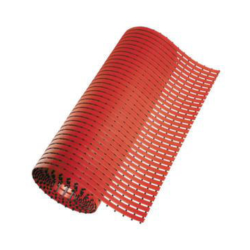 Industrie-Laufmatte,B 800mm,5m Rolle,rot
