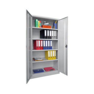 Universalschrank,HxBxT 1950x1000x600mm,RAL5010,Front RAL7016