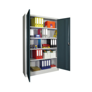 Universalschrank,HxBxT 1950x1200x500mm,RAL6011,Front RAL6011