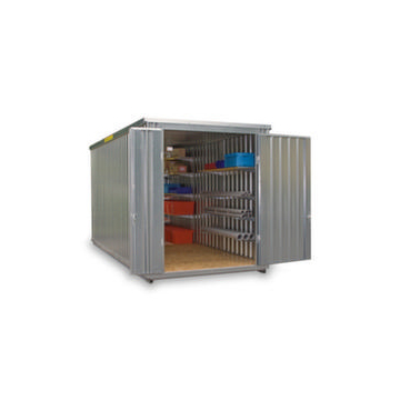 Großraum-Materialcontainer,HxLxB 2595x2540x6020mm,Holzboden