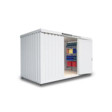 Materialcontainer,isoliert,HxBxT 2500x4050x2170mm,m. Isolierboden